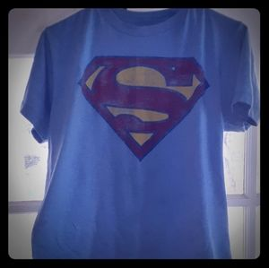 Superman size med good condition tee shirt